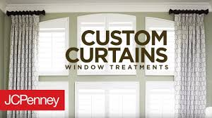 Jcpenney Home Collection Curtains Custom Curtains And Drapes For Large Windows Jcpenney In Home