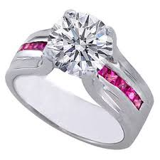 Pink Wedding Rings by 12 Best Pink Diamond Rings Images On Pinterest Pink Diamonds