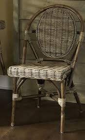 Woven Bistro Chairs Bistro Chair With Kaku Bamboo Weave