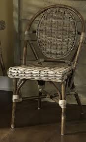 Rattan Bistro Chairs Bistro Chair With Kaku Bamboo Weave