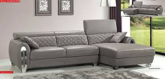 Gray Fabric Sectional Sofa Sectional Light Grey Modern Sectional Modern Grey Linen Like