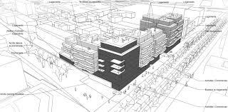 bureaux et commerces programme mixte de commerces bureaux et logements drapeau