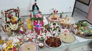 Krishnashtami Decoration My Home Janmashtami Puja Youtube