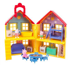 decoration maison de luxe peppa pig peppa u0027s deluxe house playset toys