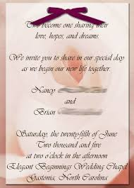 Wedding Quotes New Beginnings Diy Wedding Invitations 5 Steps
