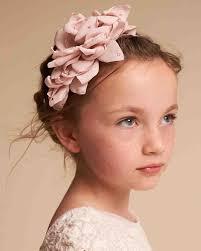 hair accessories hair accessories your flower girl will martha stewart weddings