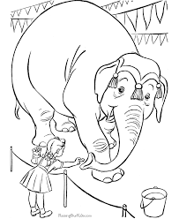 clown coloring pages fun circus coloring pages kids develop