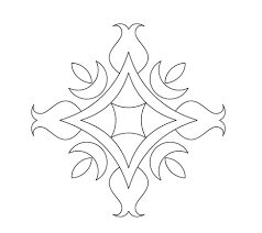 printable rangoli coloring pages coloring me