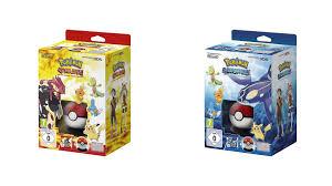 Omega Ruby Pokemon Omega Ruby Alpha Sapphire Starter Box Packaging Europe