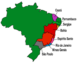 Brazil Map States by History Of Brazilian Cuisine