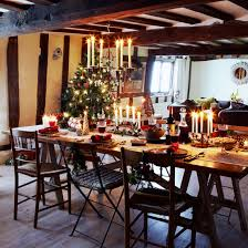 Decoration For Christmas Restaurant by Christmas Country Cottage Christmas Decorating Ideas Photo