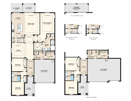 3 bedroom 2 bath 2 car garage floor plans allendale floor plan at hamlin overlook in winter garden fl