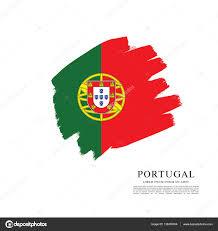 modelo de banner de bandeira de portugal u2014 vetores de stock