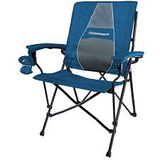 Elite Folding Rocking Chair by Strongback Elite Navy U0026 Grey The Best Folding Chair