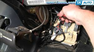 how to install repair replace parking brake release cable handle