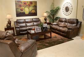 catalina power leather reclining sofa by catnapper 64311