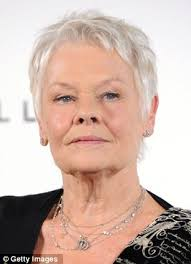 judi dench hairstyle front and back of head spoiler alert dame judi dench creates stylish 007 souvenir by