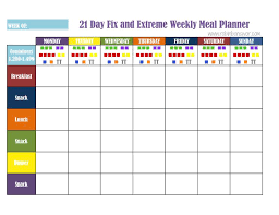 printable meal planner with calorie counter how to create a 21 day fix meal plan weekly meal planner weekly