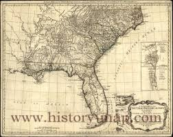 Vintage United States Map by Map Of North America 1700 Documents For The Study Of American