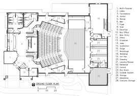 Floor Plan Theater | camelot theatre ground floor architects and architecture