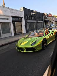 Ferrari 458 Green - sandra mitchell on twitter