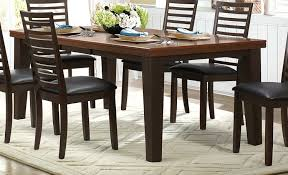 Two Tone Dining Room Sets Homelegance Walsh Dining Set Two Tone 5109 Dining Set