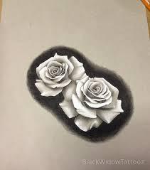 black widow custom design roses