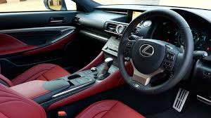 lexus f sport red interior lexus rc 200t f sport 2016 review by car magazine