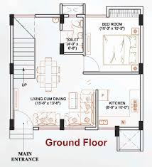 row house floor plans in india
