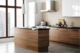 Walnut Kitchen Designs The New Kitchen Design Trend Wood Minimalism Ikea Kitchen