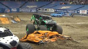 seattle monster truck show monster energy 2017 monster jam freestyle in syracuse ny youtube