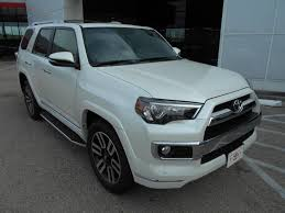 toyota 4runner 2017 white 2017 toyota 4runner limited in texas for sale 62 used cars from