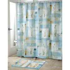 Sea Themed Bathrooms by Nautical Themed Bathroom Design With Polyester Shower Curtain