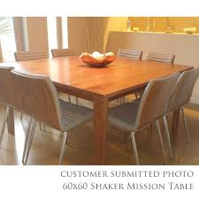 Shaker Dining Room Chairs Shaker Mission Extension Table Amish Dining Tables U2013 Amish Tables