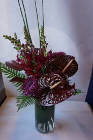Same Day Flowers Masculine Flowers Exotic Flower Arrangement Anthurium Plant