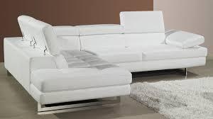 Leather Sofa Beds Uk Sale Modern Leather Corner Sofa Adjustable Headrests And Armrest