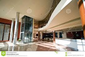 modern hotel lobby stock photo image 6870720