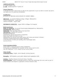simple biodata format for job mbbs doctor resume cv format cv sample model example biodata