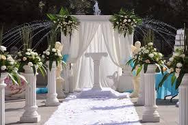 for wedding ceremony wedding ceremony flowers abbott florist south jersey wedding