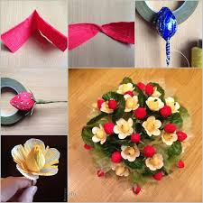 flowers and chocolate diy chocolate paper flower bouquet fab diy