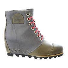 Sorel Tivoli Rugged Canvas Boots Sorel Canvas Medium Width B M Boots For Women Ebay