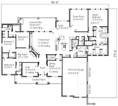 42 single story house plans with great room mystic lane 1850 3