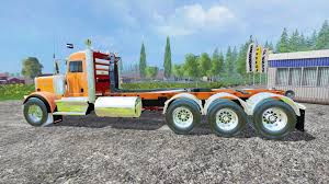 2015 kenworth truck w900b beta for farming simulator 2015