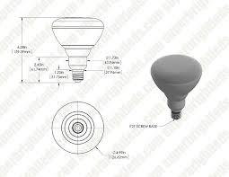 br40 led bulb 18 watt dimmable led flood light bulb 1 850