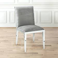 gray velvet dining room chairs grey ebay chair covers and table