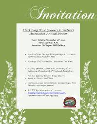dinner invitation wording invitation sles for dinner party beautiful annual party