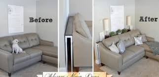 how to make a sofa table to fit your living room tiphero