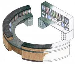 Circular Reception Desk Circular Reception Design Google Search Google Coffee Bar