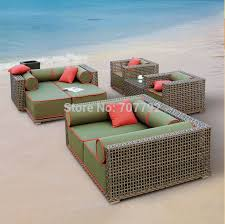 Wicker Style Outdoor Furniture by Online Get Cheap Outdoor Furniture Rattan Set Aliexpress Com