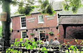 Crooked House The Crooked House Coppice Mill Himley Road Himley Birmingham Mail